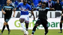 Serie A Sampdoria, Colley out per un virus influenzale