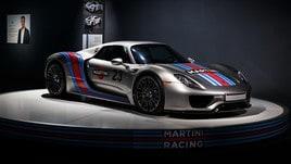 Porsche 918, un futuro retrò a stato solido