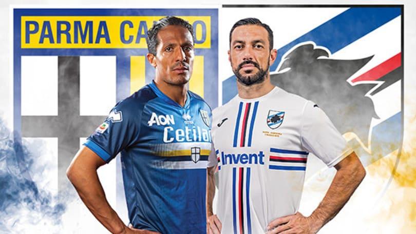 Serie A, Parma-Sampdoria si giocherà a maglie invertite