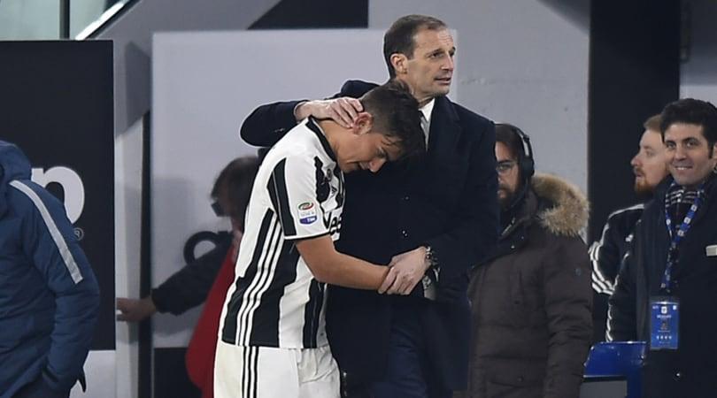 «Juventus, Dybala è scontento: per Allegri può partire»