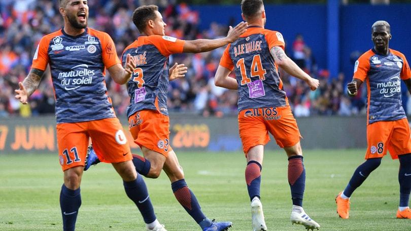 Ligue 1, il Montpellier rimonta il Psg nel finale