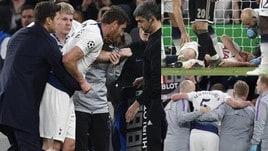 Tottenham-Ajax, paura Vertonghen: scontro con Onana e malore