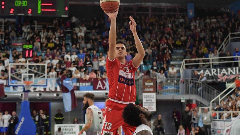 Basket, play-off A2: Rieti supera Forlì, Latina sbanca Montegranaro