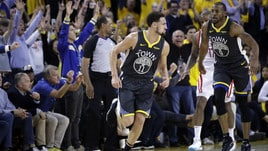 NBA Playoff: Golden State vince ancora, Rockets sotto 0-2