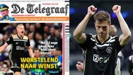 Champions, la stampa olandese esalta l'Ajax: «La favola continua, finale in vista»