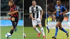 Bonucci compie 32 anni: Chi altro ha vestito le maglie di Juve, Inter e Milan?