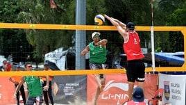 Beach Volley: Rossi-Carambula agli ottavi di Kuala Lumpur