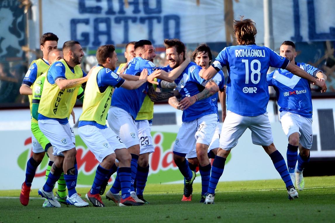 Serie B, Brescia: è festa promozione! Dessena decisivo contro l'Ascoli