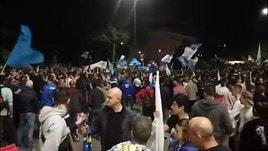 Brescia: la gioia dei tifosi per la Promozione in Serie A