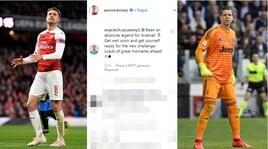 Ramsey, basta Arsenal e Szczesny lo accoglie così: «Preparati alla nuova sfida»