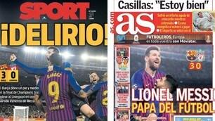 Messi show: la stampa estera celebra la Pulce