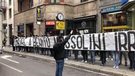Striscione fascista, per otto ultras Lazio arriva il daspo