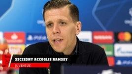 Juventus, Szczesny accoglie Ramsey