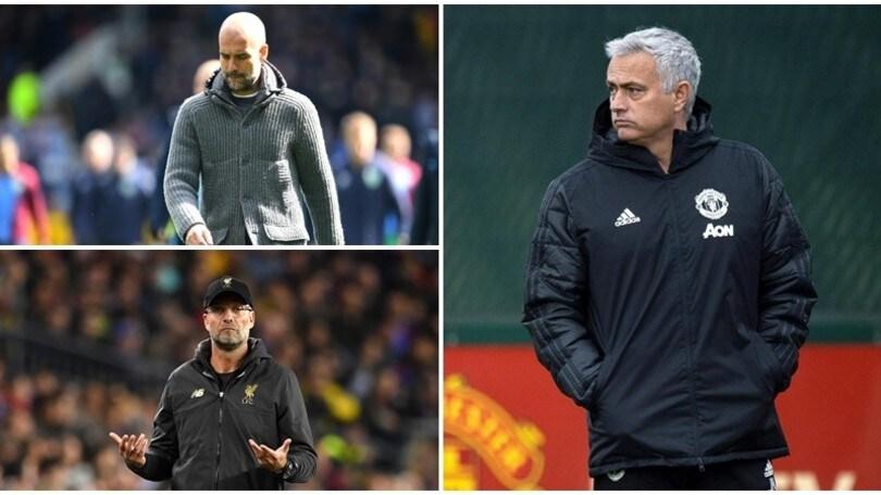 Mourinho attacca Klopp e Guardiola: «Vorrei agire sul mercato come loro»