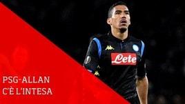 Napoli, ci sarebbe intesa Allan-PSG