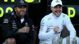 F1 Mercedes, Wolff: «Non faremo litigare Bottas e Hamilton»