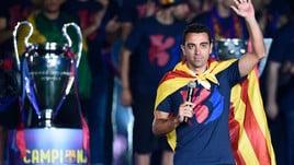 Xavi annuncia il ritiro: «Farò l'allenatore»