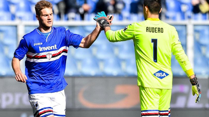 Serie A Sampdoria, lavoro specifico per Andersen