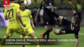 Europa League, finale incerta. Milan, Caldara crack