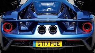 Ford GT, primo test su strada FOTO
