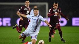 Serie A Sampdoria, Giampaolo ancora con il dubbio Andersen