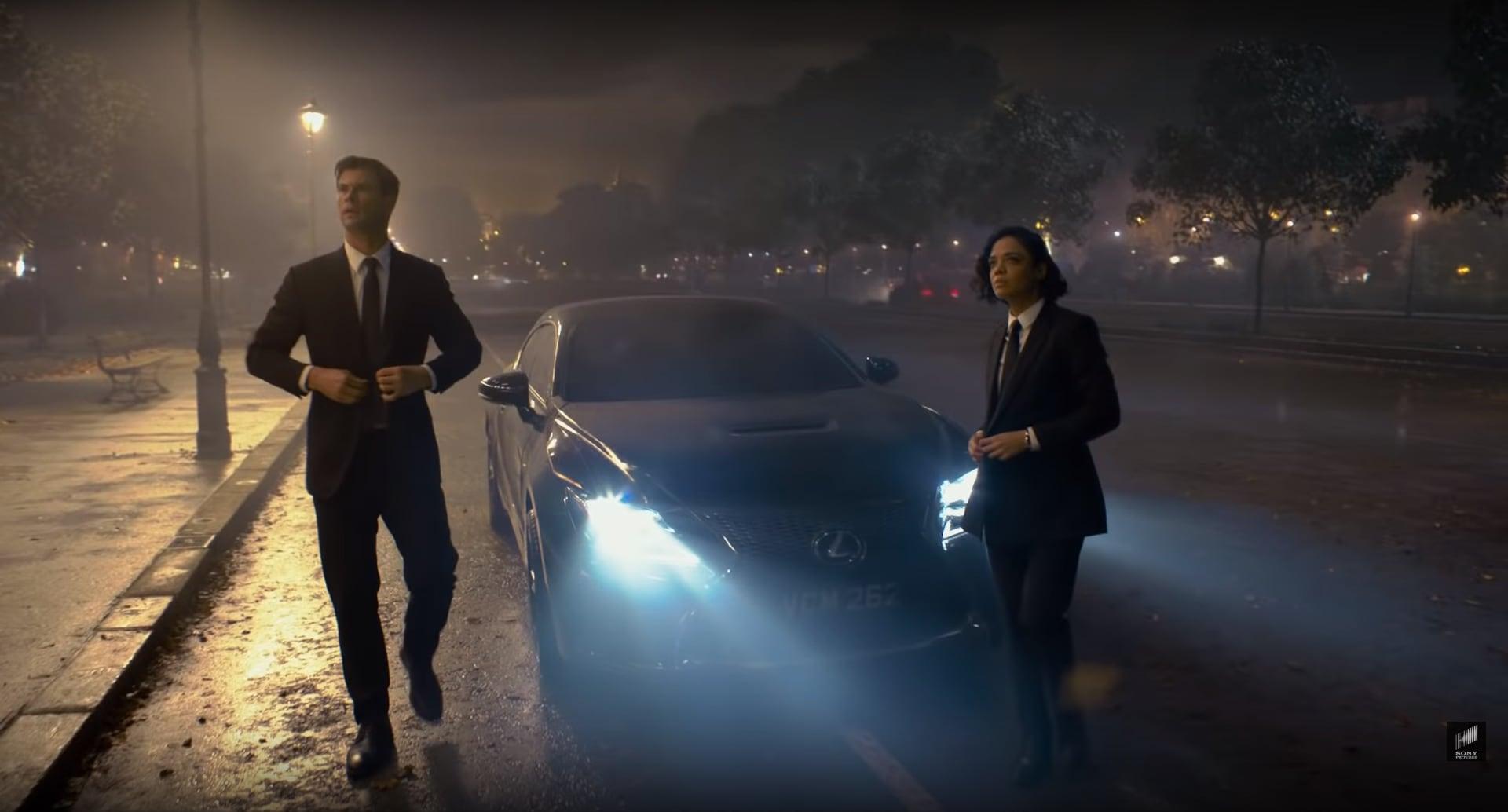 Lexus RC F, missione Men in Black: salvare la Terra