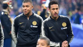Psg: tre turni di squalifica per Mbappé, rischia grosso Neymar