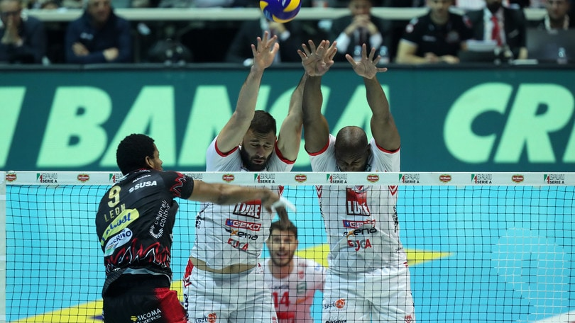 Volley: Superlega, all'Eurosole Gara 2 della sfida scudetto