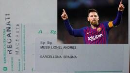 Messi, residenza a Recanati: inviata tessera elettorale per le elezioni