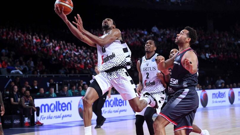 Basket, Champions League: la Virtus Bologna è in finale