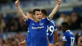 Premier League, l'Everton piega 2-0 il Burnley