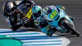Moto3, Jerez: Dalla Porta in pole, Vietti terzo