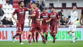 Serie B Cittadella-Verona 3-0: Diaw, Moncini e Iori in rete