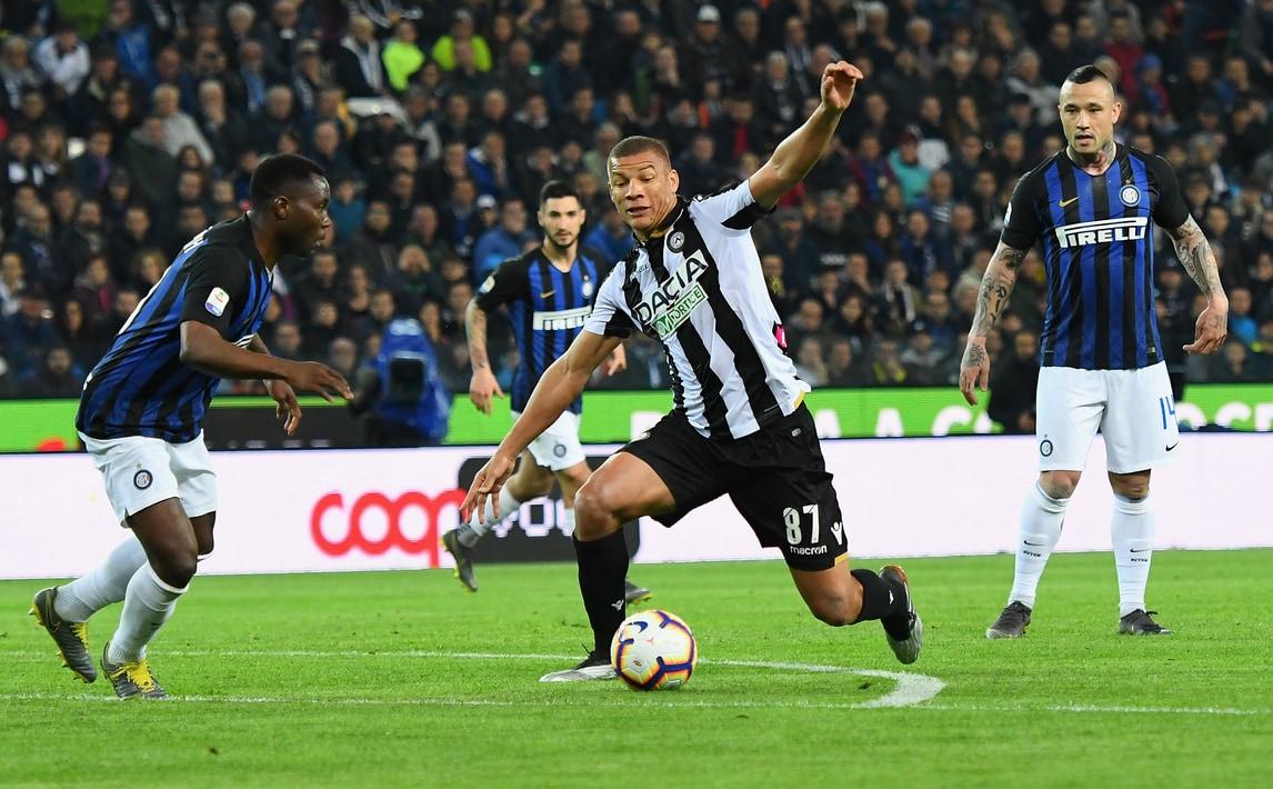 Serie A Udinese-Inter 0-0, Il Tabellino