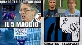 L'Inter fu: il 5 maggio festeggiato sui social dai tifosi della Juve
