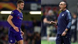 Chelsea, Cahill attacca Sarri: «Difficile rispettarlo dopo quello che ha fatto»