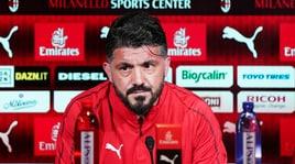 Milan, Gattuso: «Bakayoko? Si è parlato più di lui che della vittoria sul Bologna»