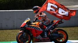 MotoGp Jerez, Marquez: «Non era facile vincere dopo Austin»