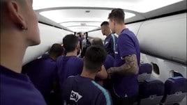 Zenit campione...in aereo: la festa è esagerata