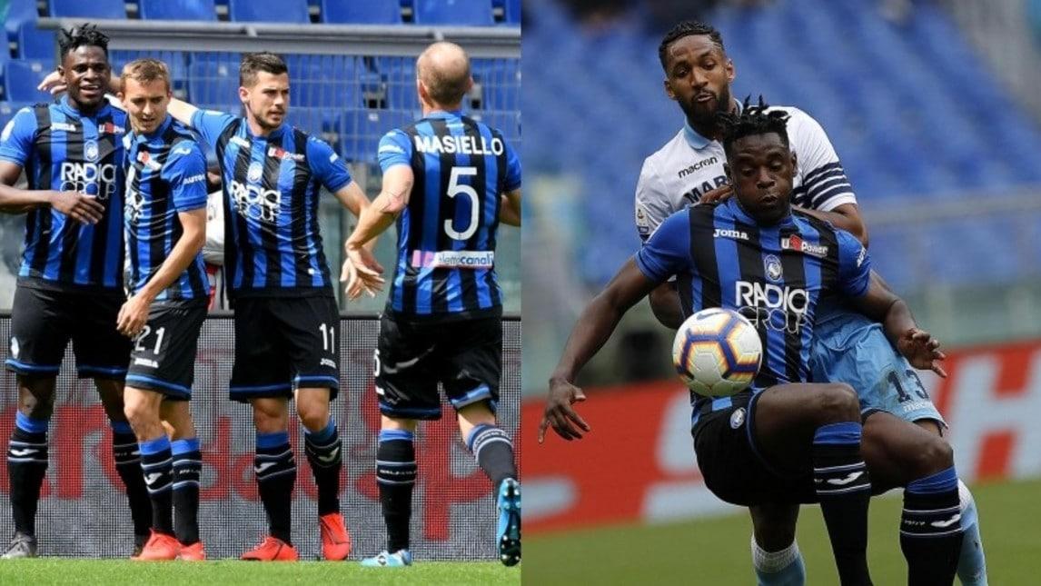 La squadra di Inzaghi va in vantaggio con Parolo e poi subisce i gol di Zapata e Castagne e l'autorete del difensore brasiliano beccato dal suo pubblico: il quarto posto occupato da Gasperini dista ora sette punti. Presente all'Olimpico anche il ct Mancini