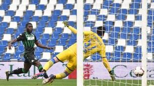 Frosinone retrocesso in Serie B: il Sassuolo trova il 2-2 nel finale
