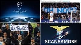Lazio travolta dall'Atalanta e sul web si scatena l'ironia