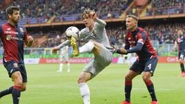 Serie A Genoa-Roma 1-1, il tabellino