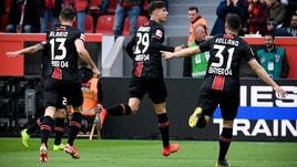 Bundesliga, lo Schalke pareggia e si salva. Leverkusen a valanga sull'Eintracht
