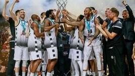 Champions League: trionfa la Virtus Bologna ed è festa grande