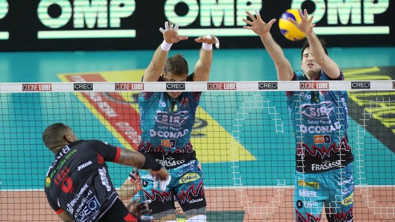 Volley: Superlega, Finale scudetto: Civitanova pareggia i conti