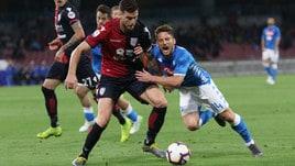 Serie A Cagliari, Ceppitelli ha lavorato a parte