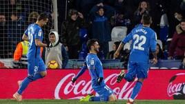 Liga, il Getafe vola al quarto posto e inguaia il Girona. Bilbao ko contro il Valladolid