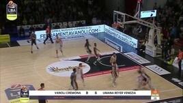 Vanoli Cremona - Umana Reyer Venezia 80-65