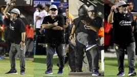 Messico, Dorados ko: Maradona scatenato in panchina